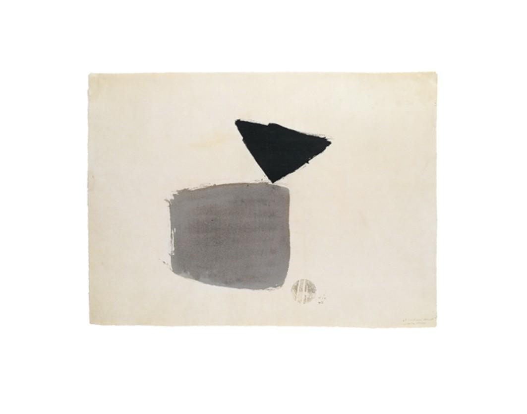 Viereck und Dreieck 4.10.48, 1948