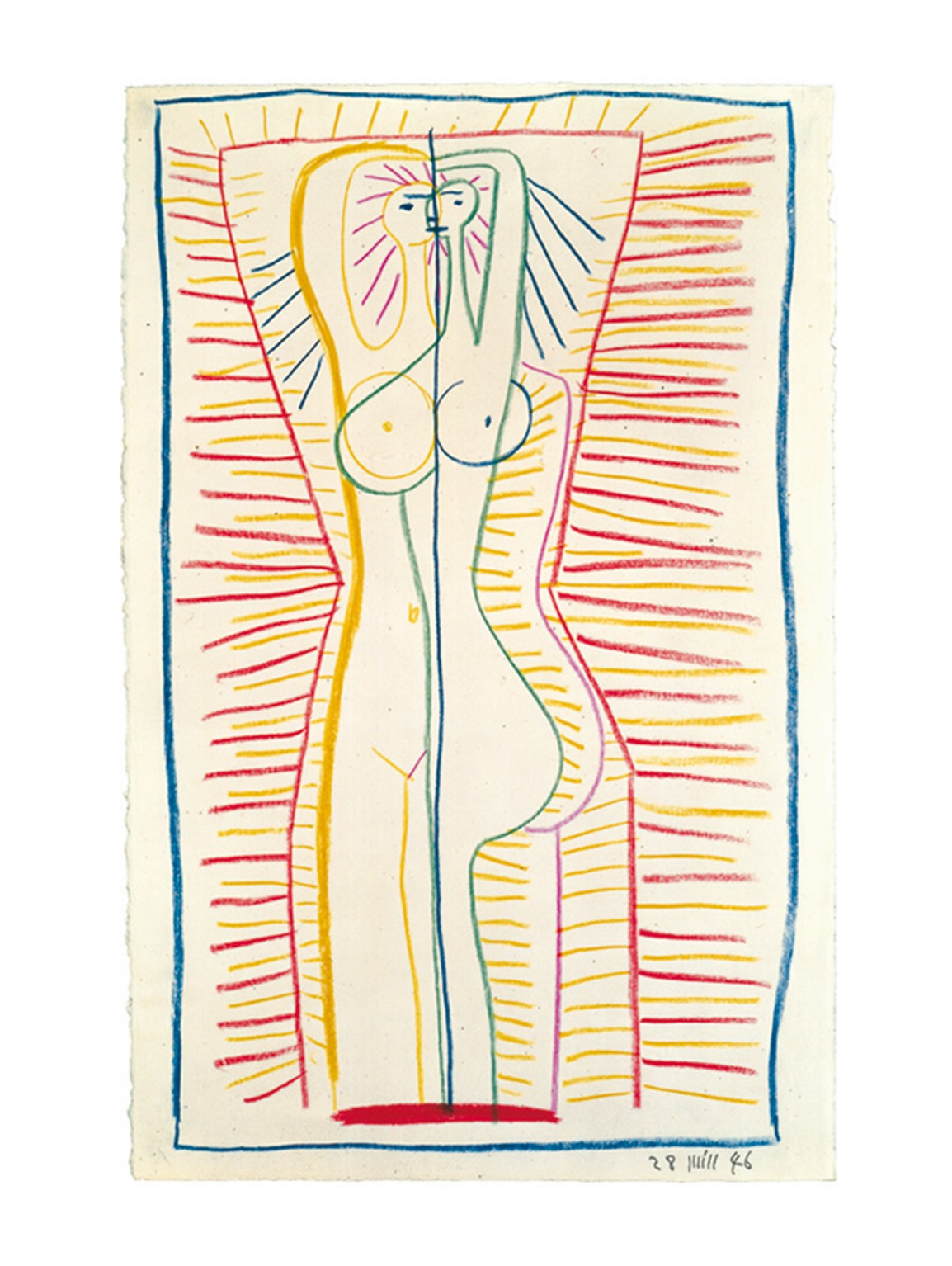 Woman standing, 1946