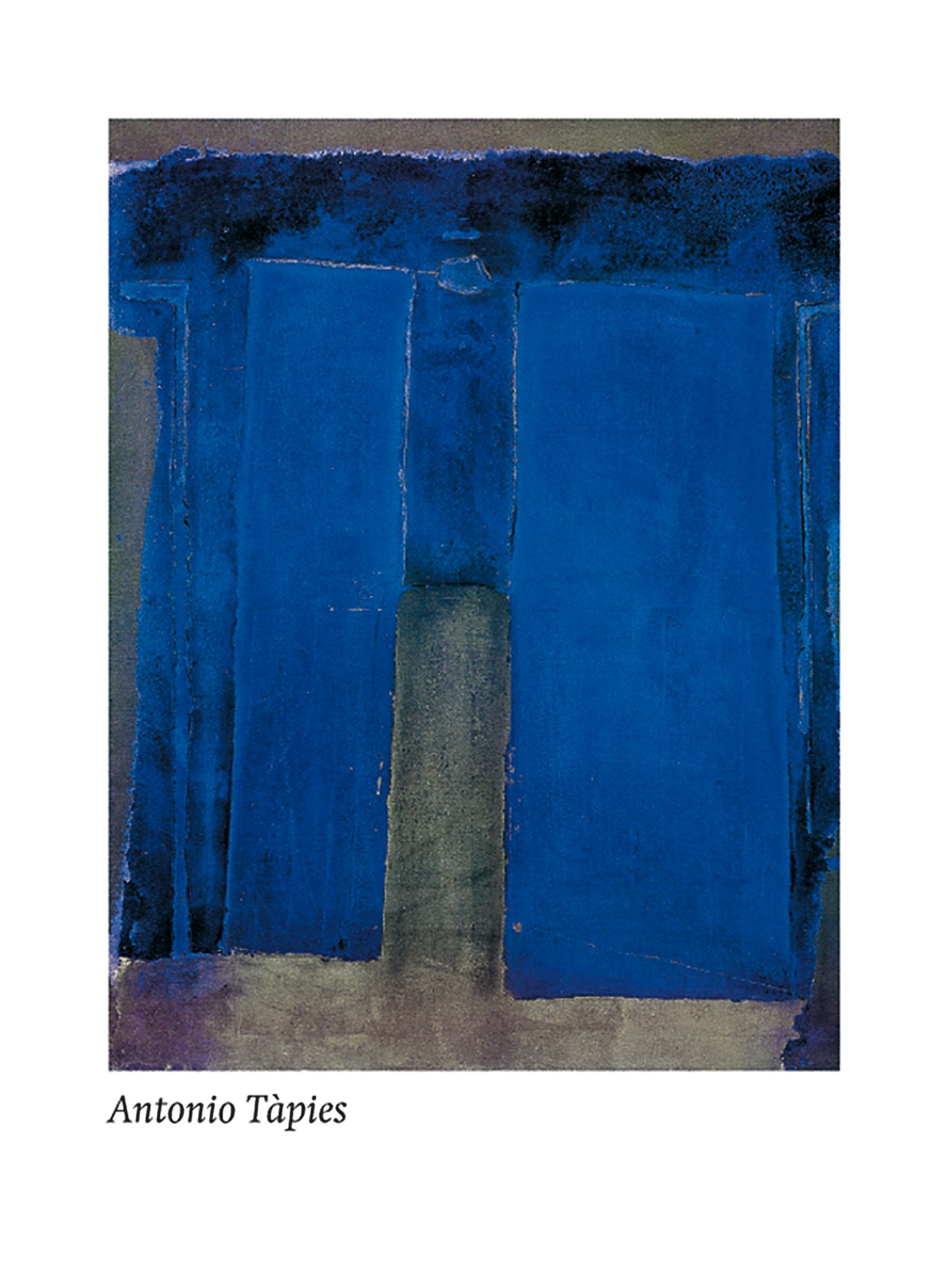 Composition ultramarine, 1959