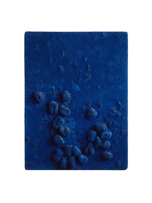 Das Blaue Scwammrelief, 1958