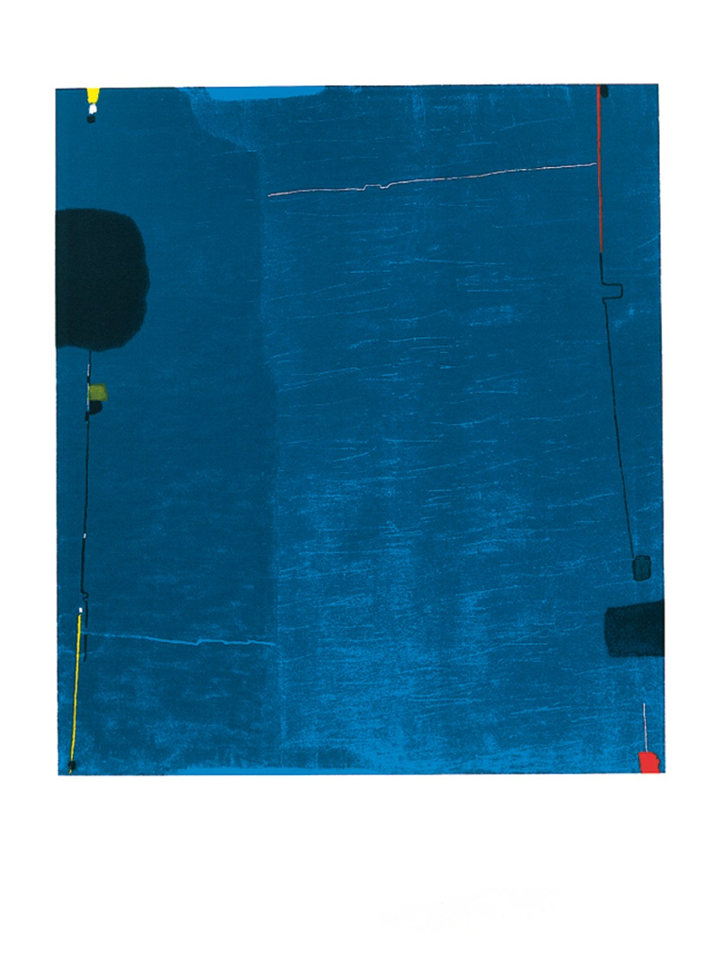 Diptychon blau, 1963