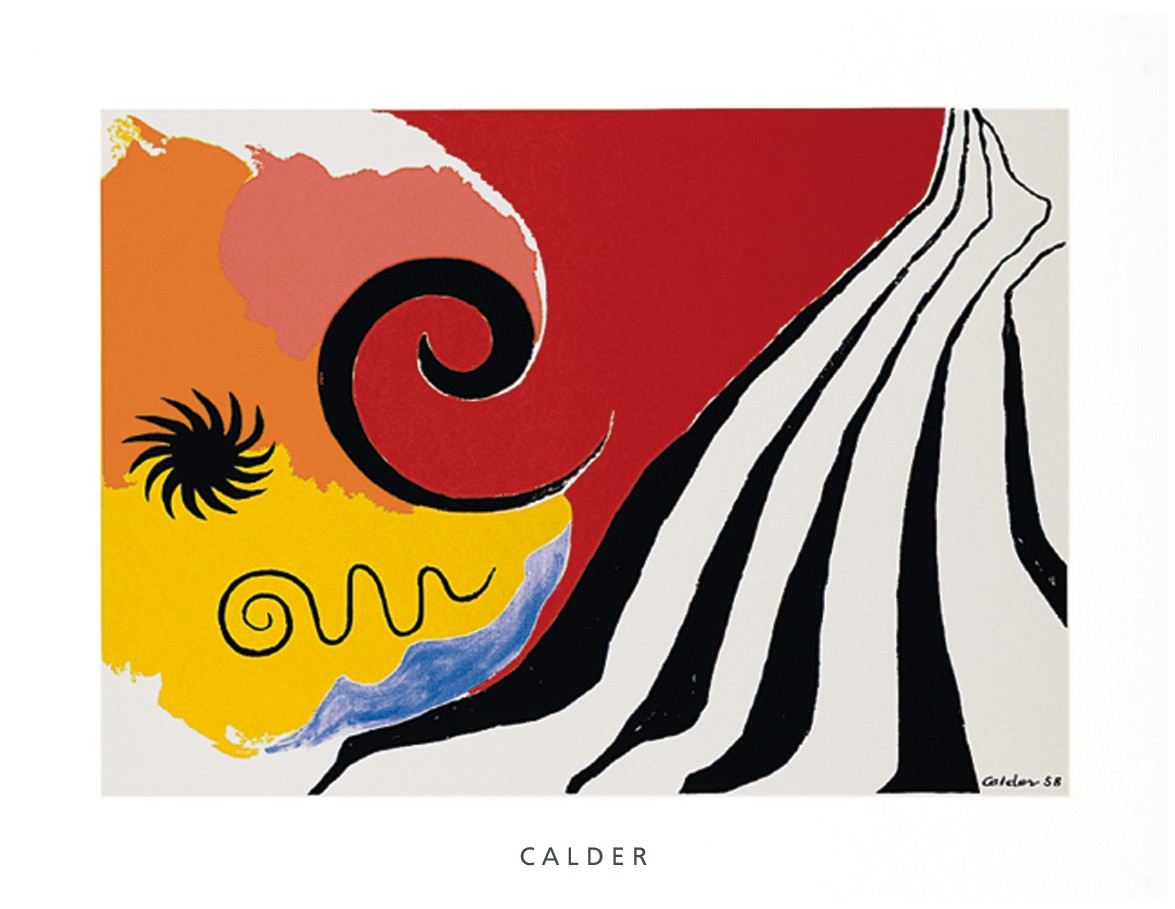 Pinwheel and flow, 1958
