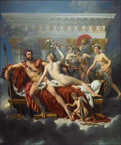 Mars désarmé par Vénus