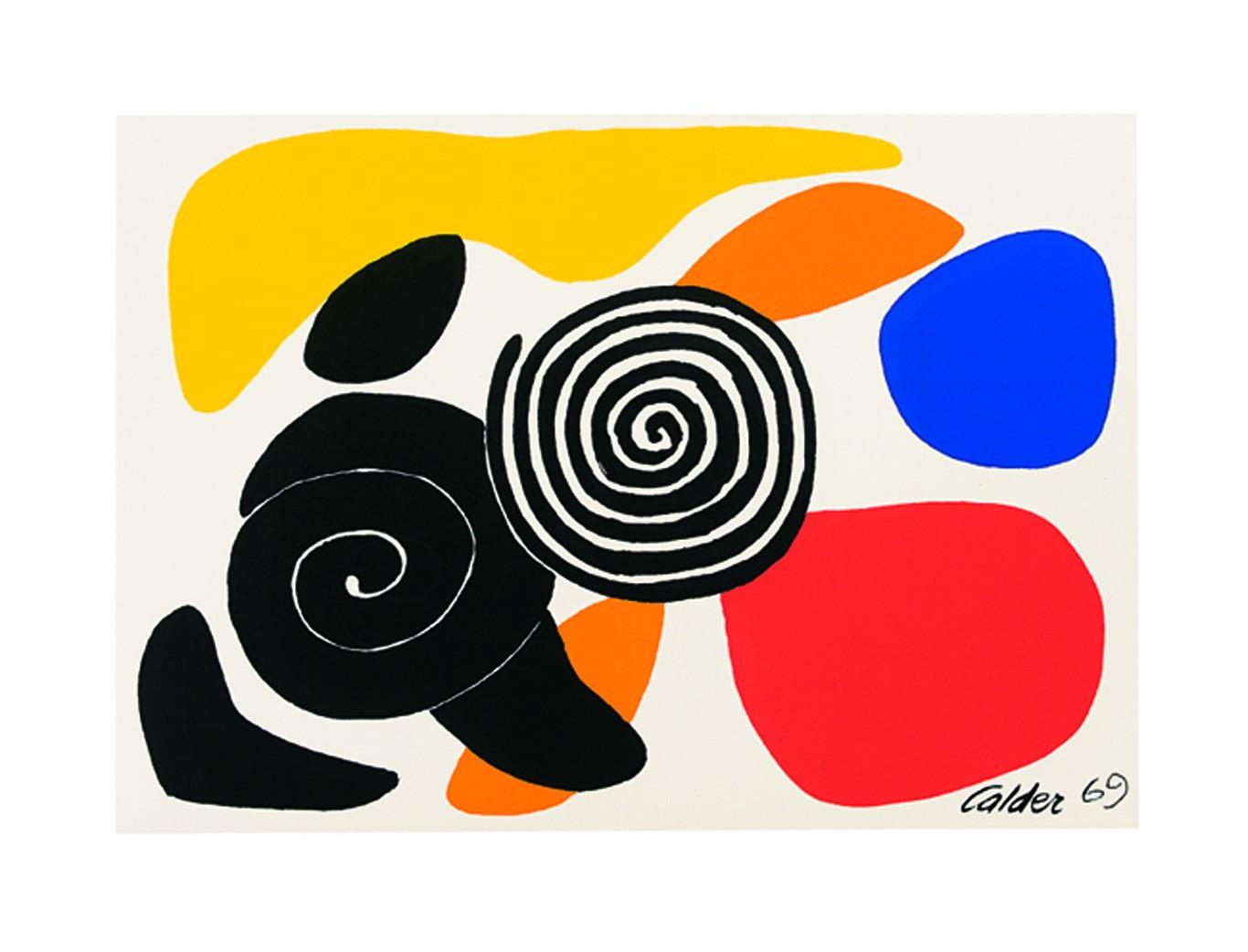 Spirals and Petals, 1969