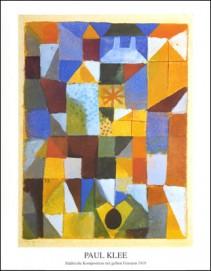 Städische Komposition mit Gelben Fenstern