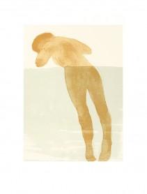 Reclining female nude, 1900